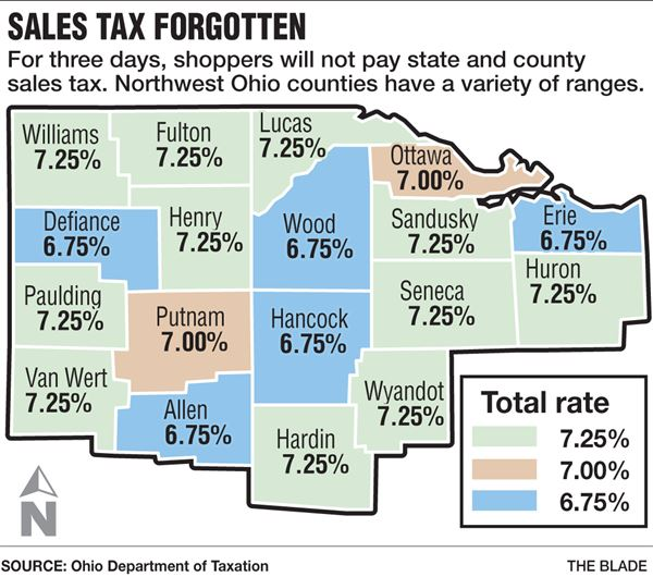 State's sales tax holiday runs Friday