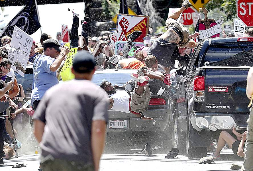 A member of President Trump's administration called the Charlottesville attack terrorism