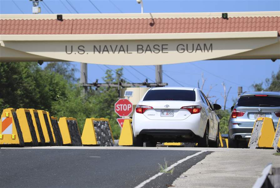 Guam is telling its citizens how to survive a nuclear attack