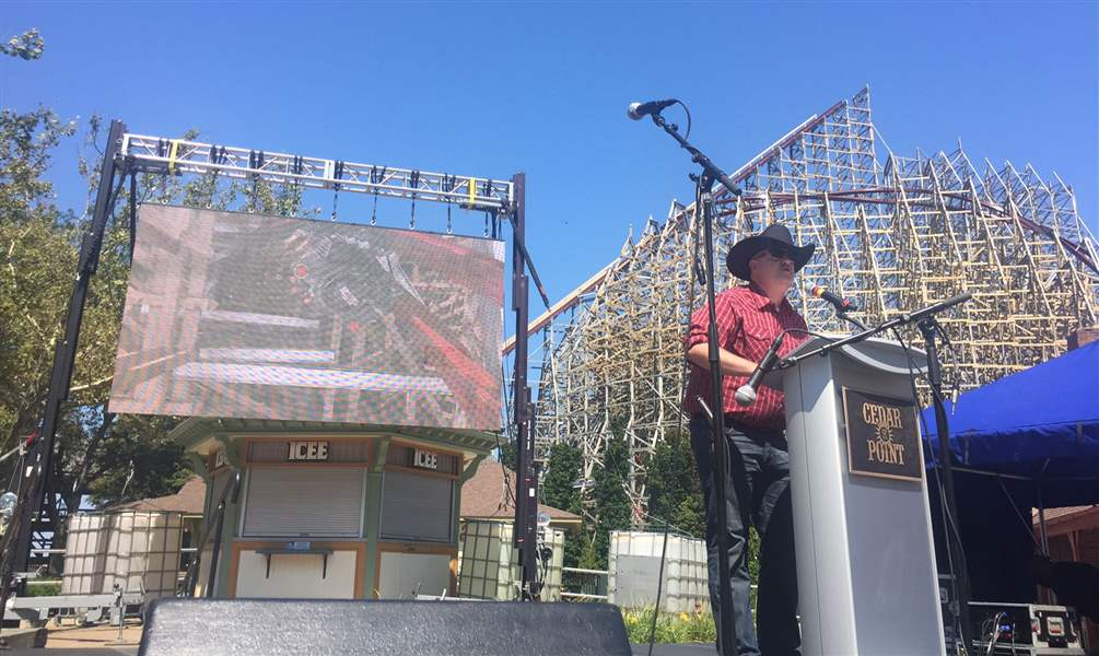 Tallest, fastest, longest steel-wood hybrid coaster coming to OH in 2018