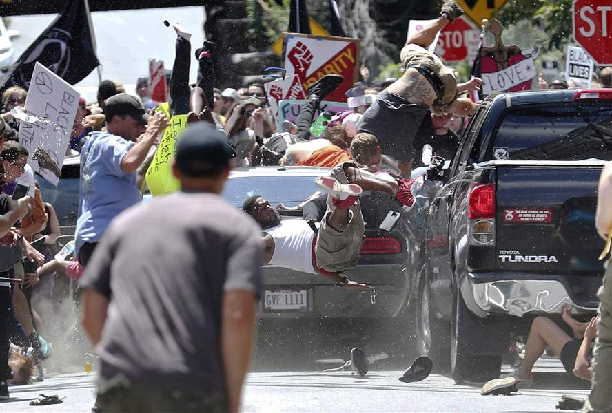 James Fields: Charlottesville vehicle  attack suspect charged with 5 more felonies