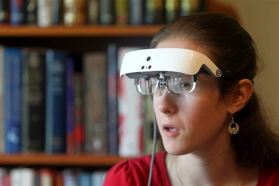 life-changing technology is helping blind people see