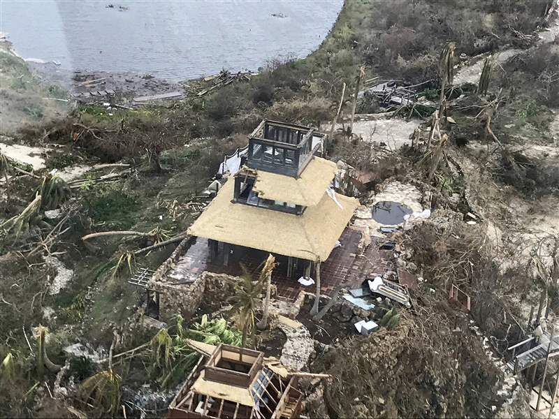 Government seeks worldwide  aid changes to help Caribbean hurricane victims