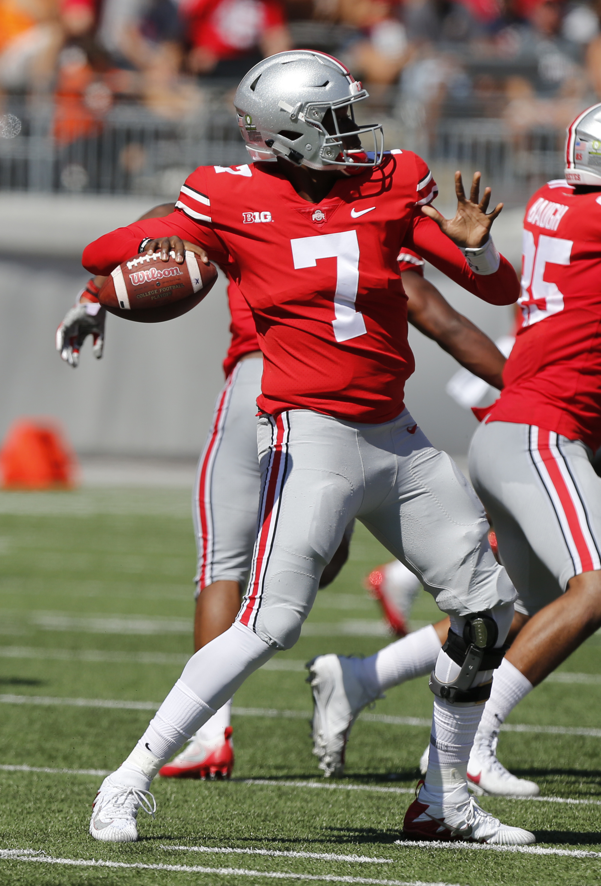 Meyer Says No Separation In Ohio States QB Battle The Blade