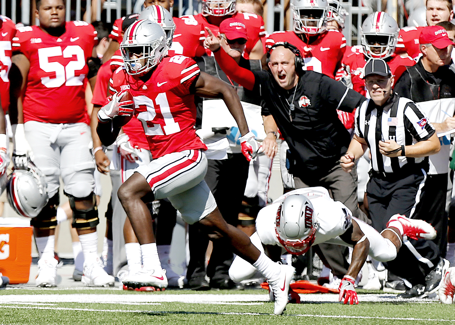 parris campbell u0026 39 s status in doubt for iowa game