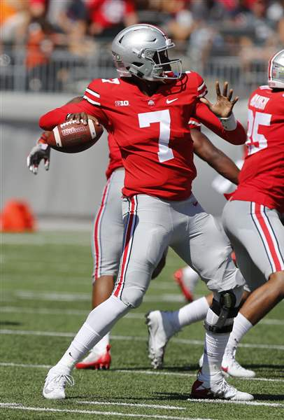 Meyer says no separation in Ohio State's QB battle - The Blade