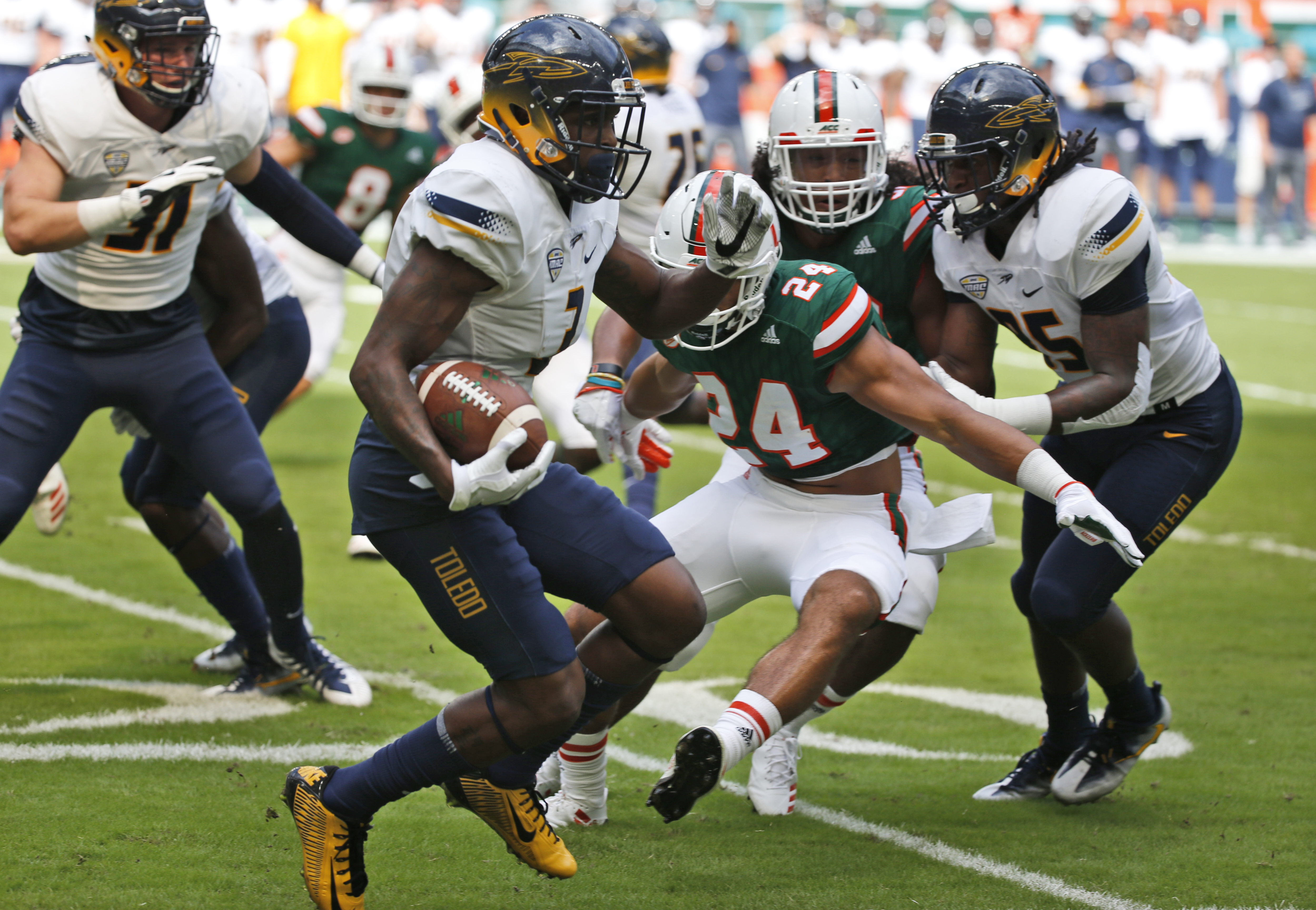 Closer Look At Ut Stats From Miami Game The Blade