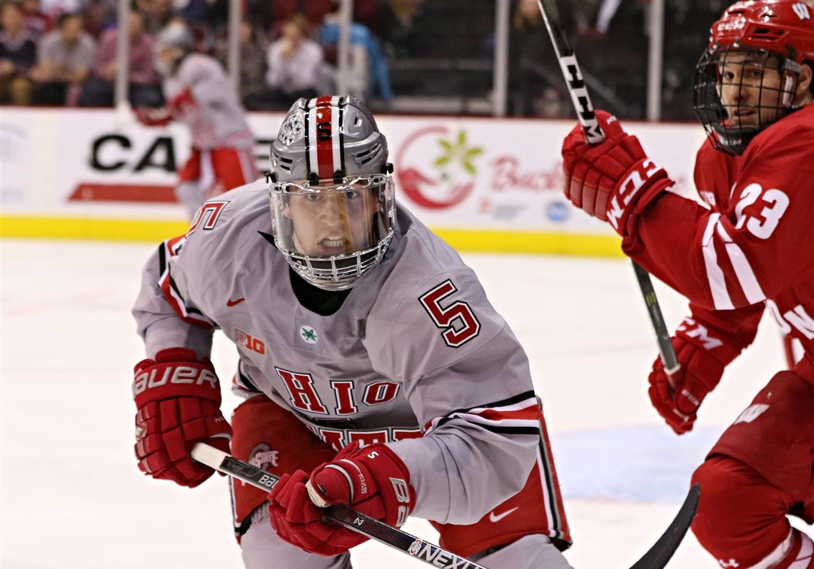 brand new 32a53 08fff OSU hockey sees promise in Sylvania native Myer | Toledo Blade