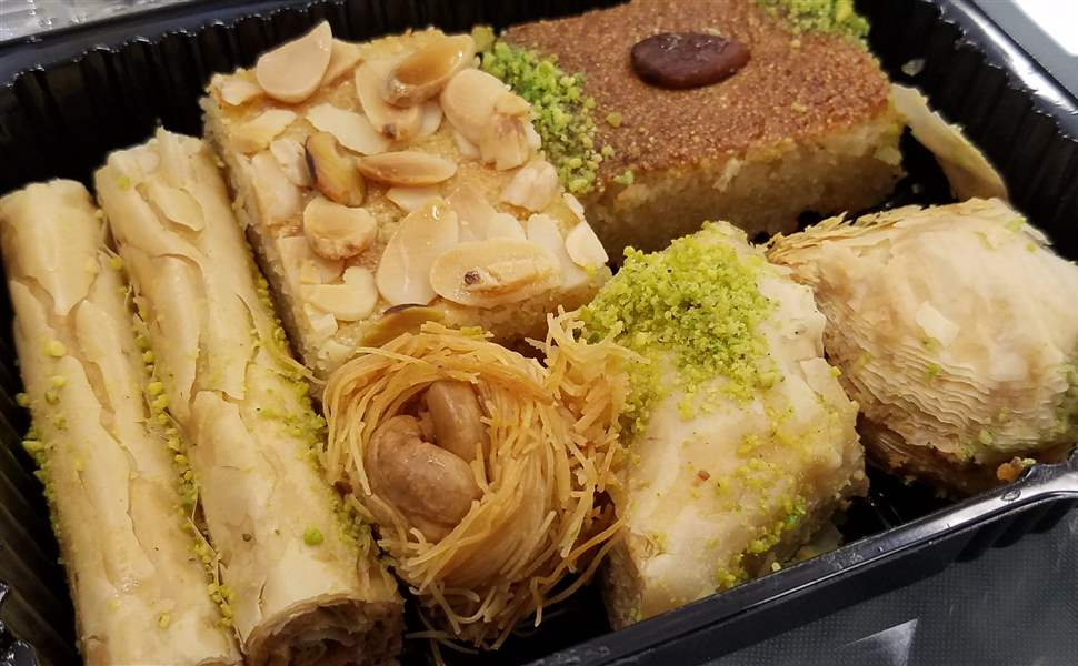 Assortment-of-Lebanese-pastries-at-So-Sweet-Lebanese-and-French-Pastries