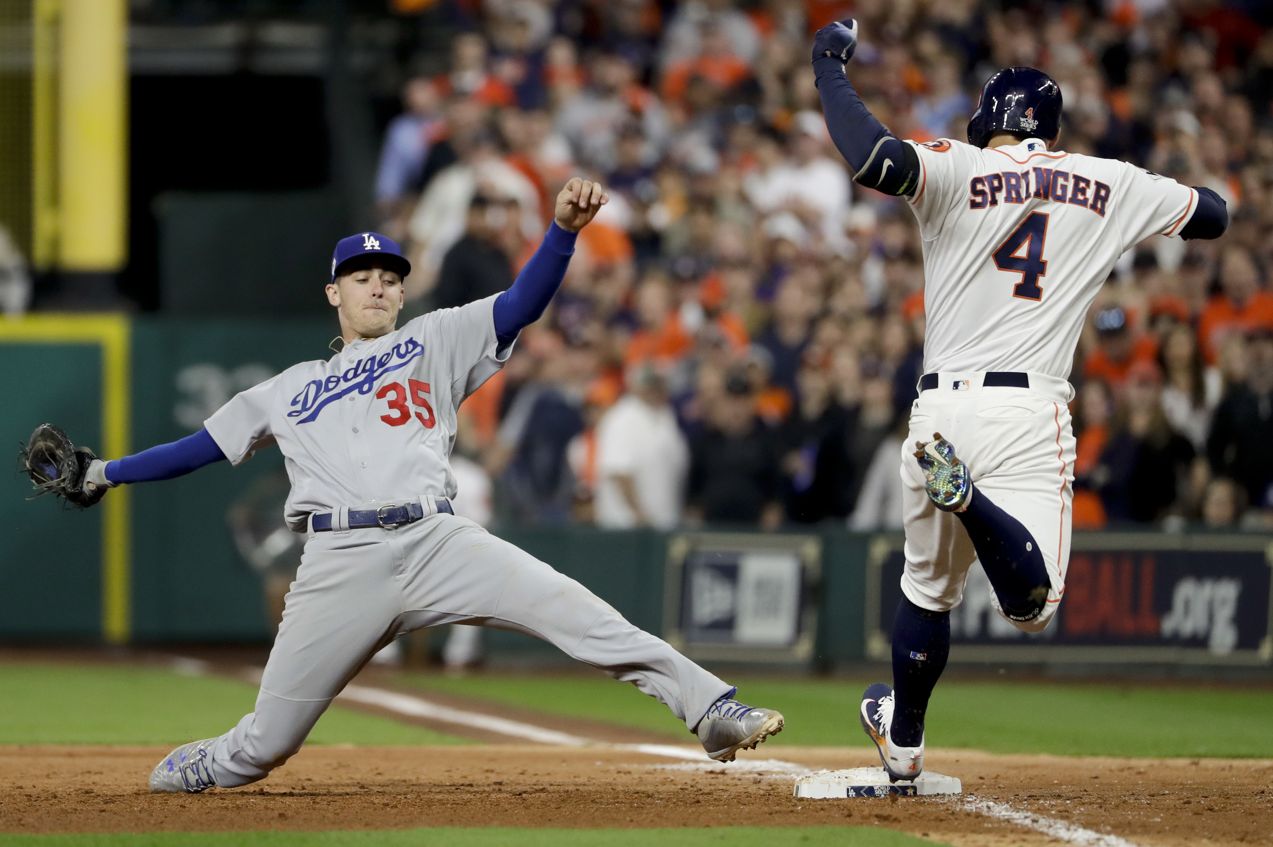 Astros Start Fast Top Dodgers In Game 3 Of World Series