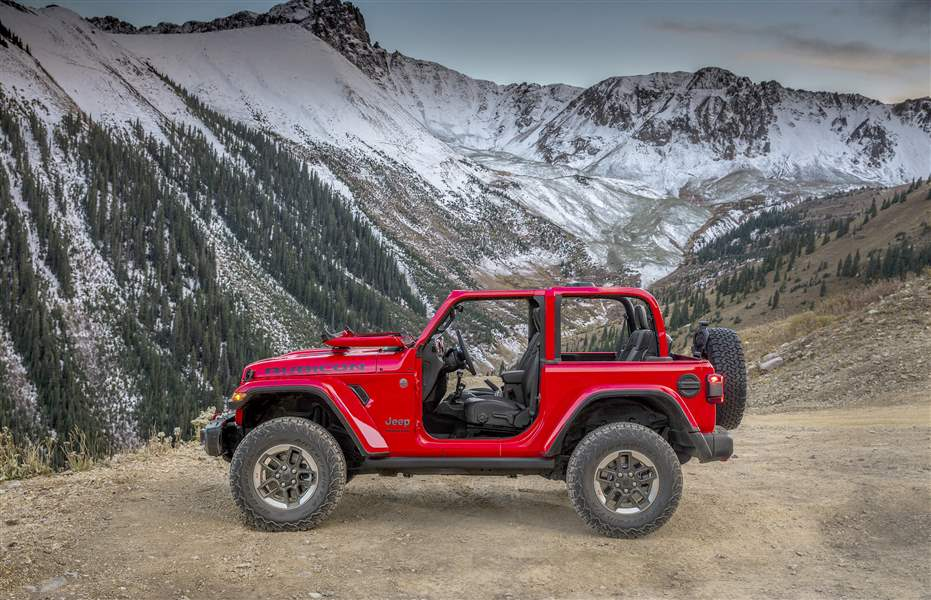 Jeep Wrangler JL Interior Detailed in New Photos