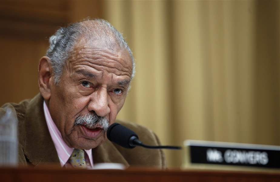 Conyers Says He'll 'Step Aside' From Judiciary Panel Amid Harassment Claims