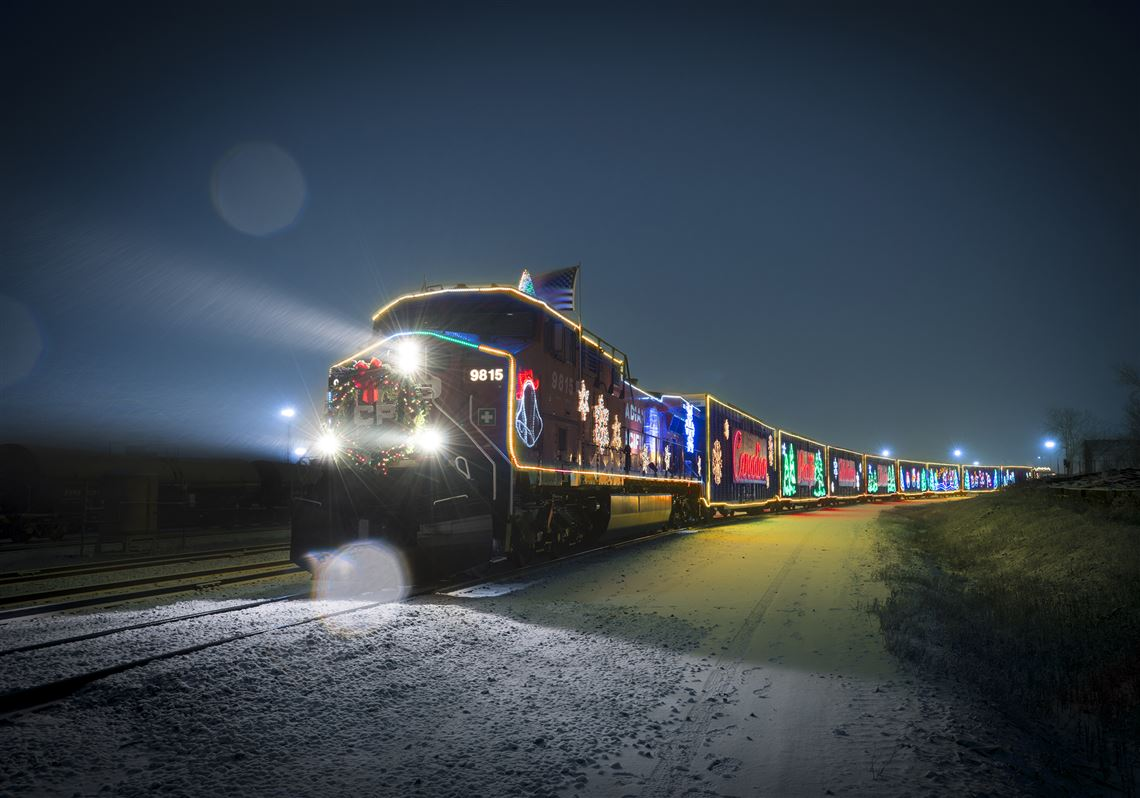 Holiday Train Schedule 2019 Michigan Holiday train to roll through SE Michigan   Toledo Blade