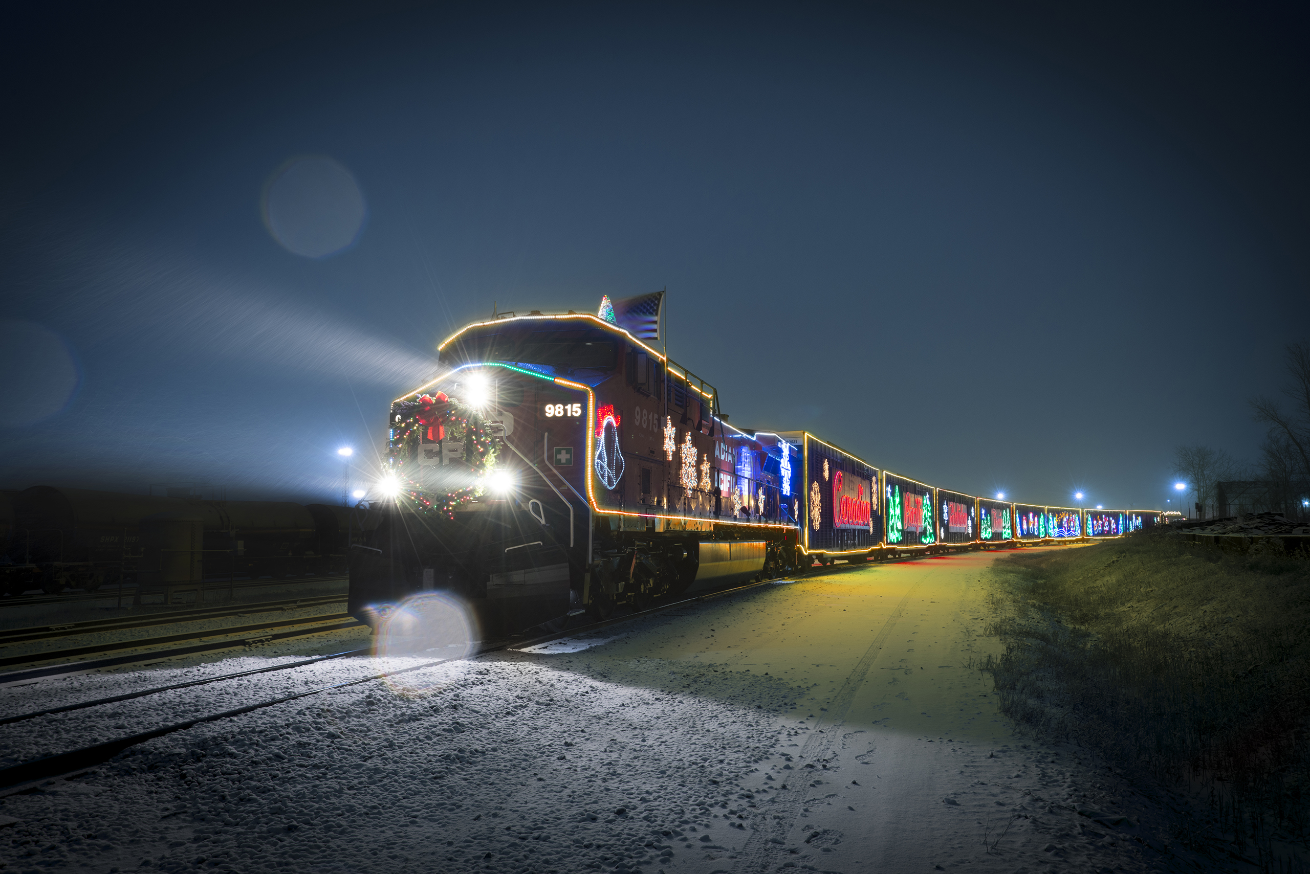 holiday train to roll through se michigan the blade