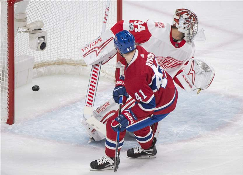 Detroit Red Wings at Montreal Canadiens live chat