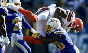 Browns-Chargers-Football-10