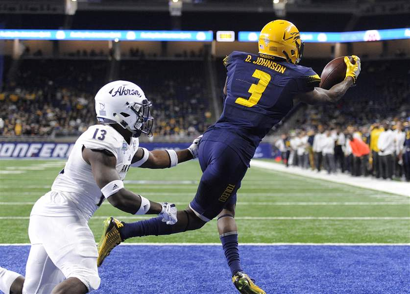 Akron Zips fall to Toledo Rockets in 2017 MAC Championship Game