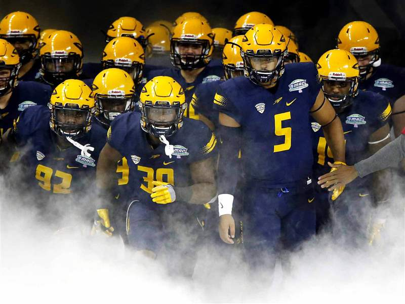 For Toledo Football Team, Scenery Shifts To Mobile