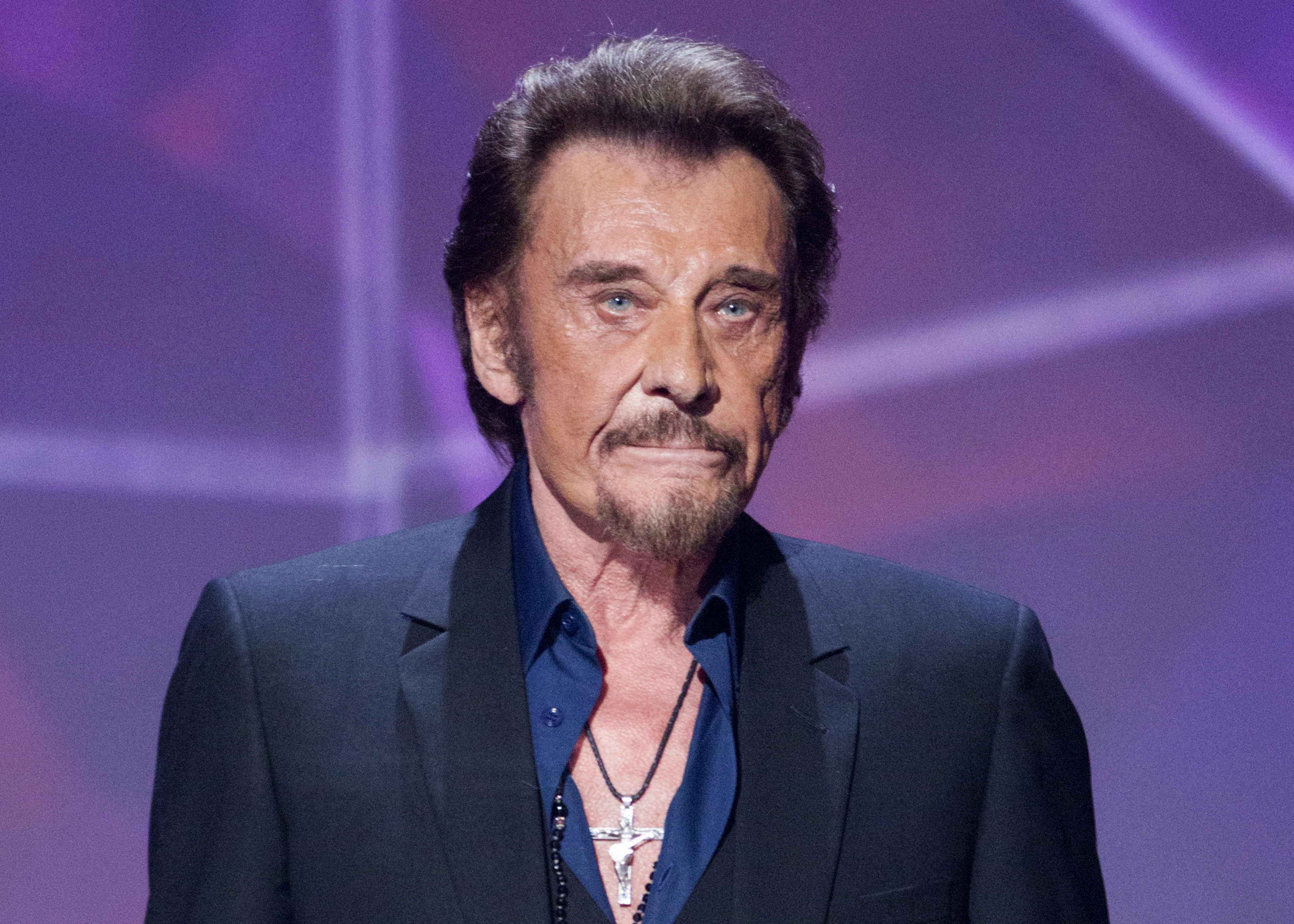 Rock icon Johnny Hallyday, known as French Elvis, dies at ...