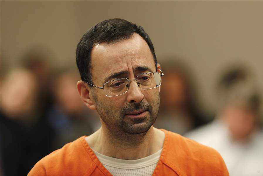 Larry Nassar victims say they're disappointed with Michigan State's response