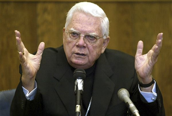 Cardinal Law, centre of church sex abuse cover-up, dies