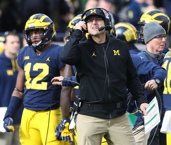 Michigan Great Amani Toomer Criticizes Jim Harbaugh, Compares Him To Paris Hilton