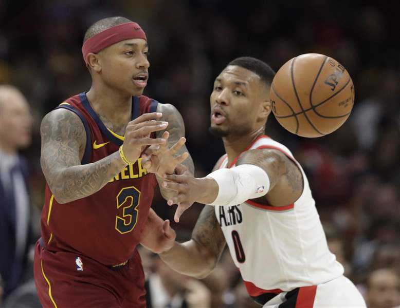 Trail-Blazers-Cavaliers-Basketball-15