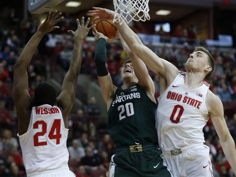 Kent Bates-Diop, Ohio State stun No. 1 Michigan State