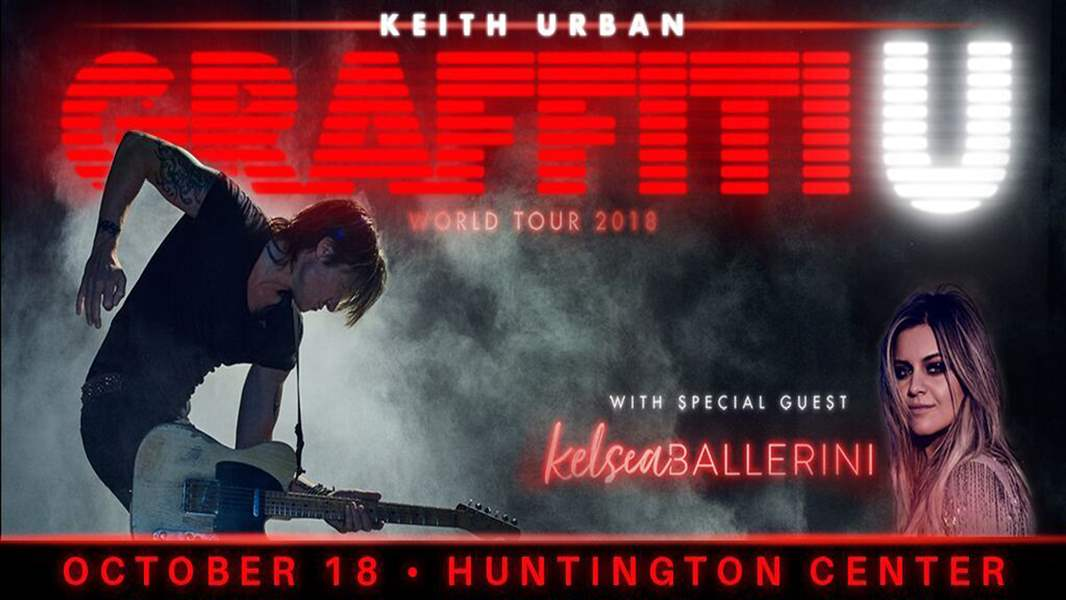 Keith Urban coming to Saskatoon in September