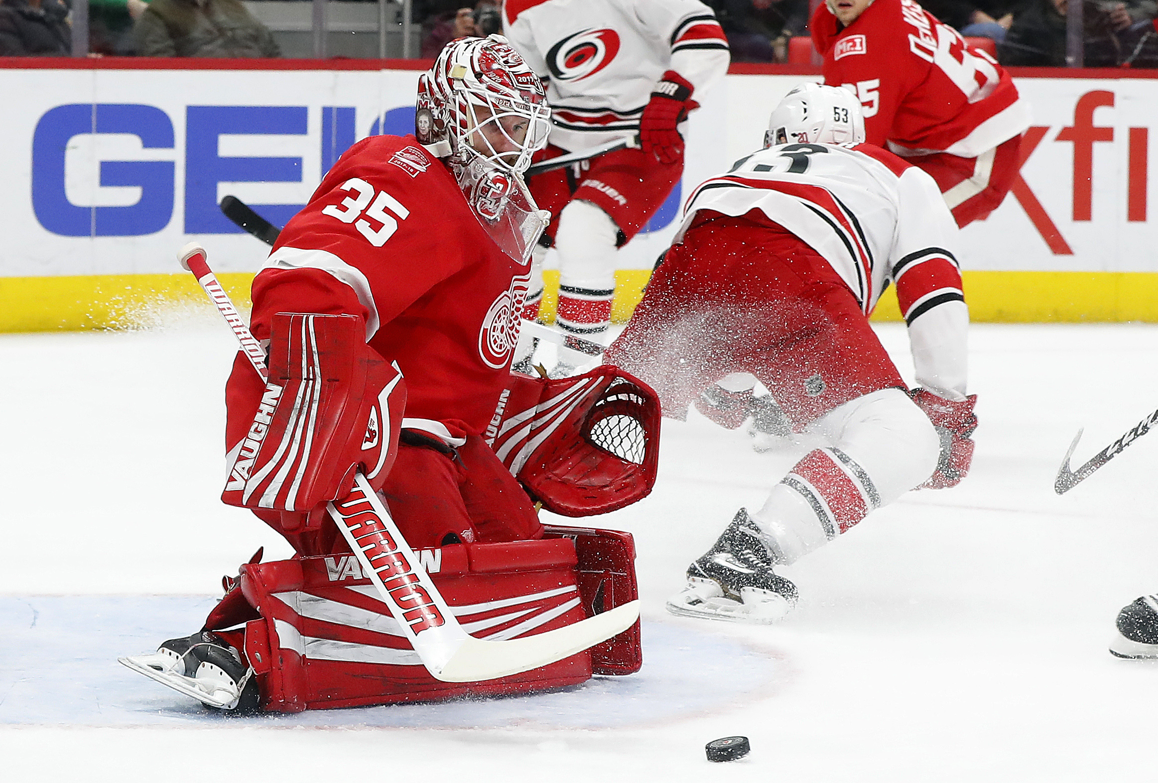 Hurricanes push past Red Wings in third period - The Blade