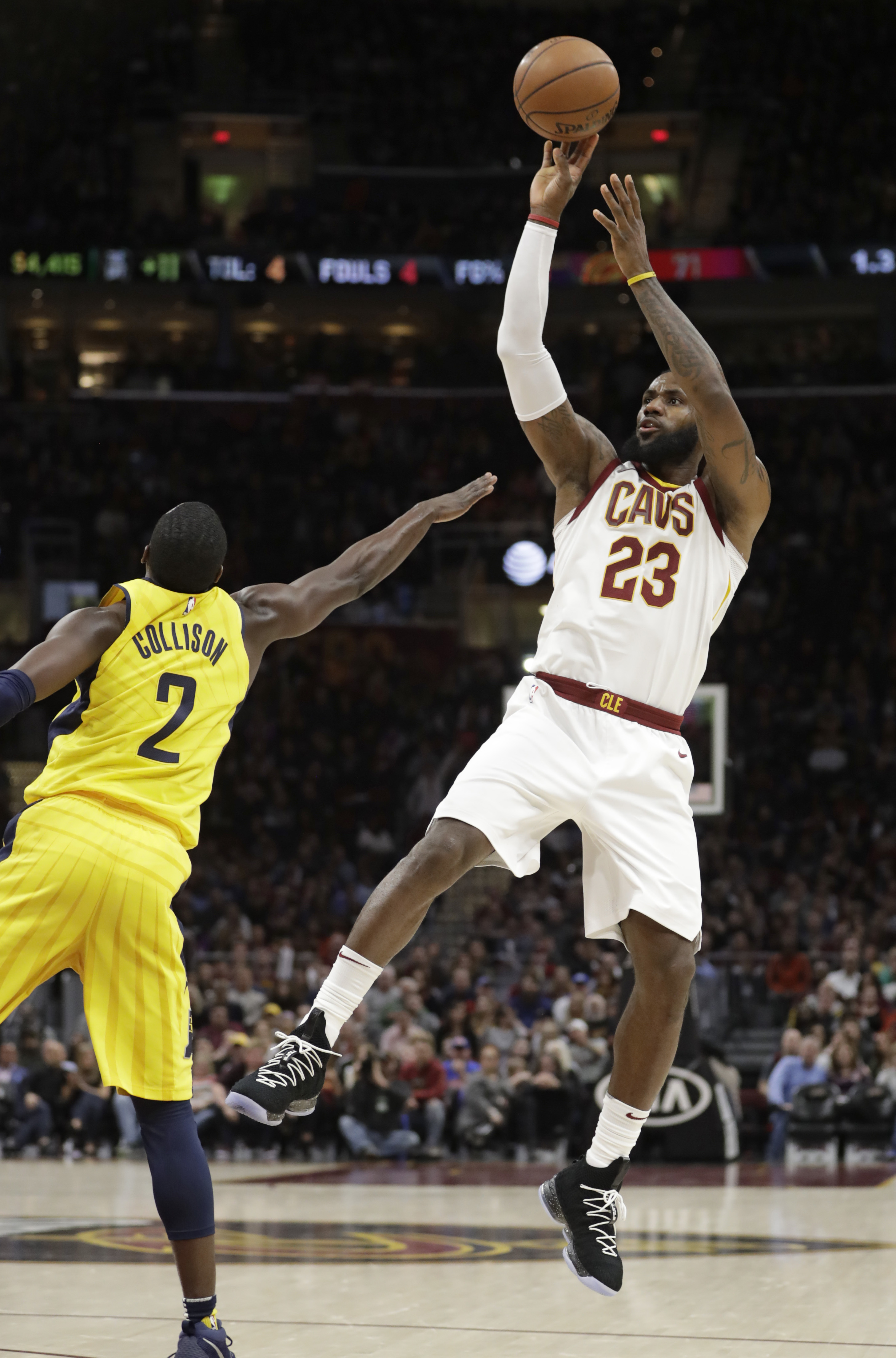 LeBron's triple-double guides Cavs past Pacers - The Blade