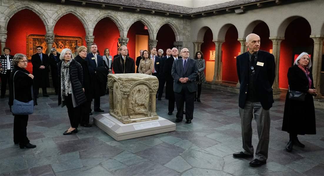 Art exhibit draws churches to Toledo museum - The Blade