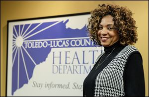 Celeste Smith, pictured in 2016, is the coordinator of Minority Health at the Toledo Lucas County Health Department.