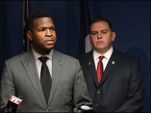 Will Lucas, left, has been named to the Ohio Martin Luther King, Jr. Holiday Commission by Governor John Kasich.