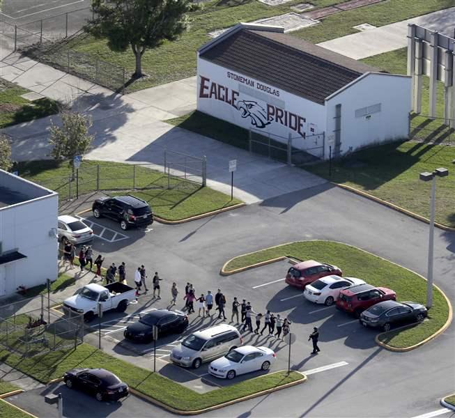 Authorities: 17 Dead In Florida High School Shooting