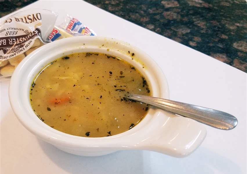 Chicken-orzo-soup-at-the-Bedford-Diner