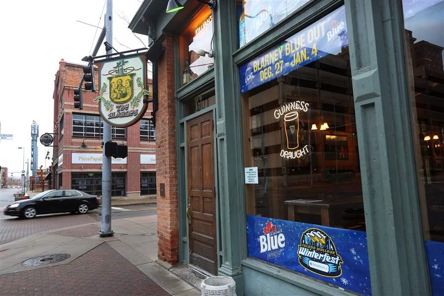 The Blarney Irish Pub In Downtown Toledo Is One Of 40 Restaurants Paring This Year S Restaurant Week