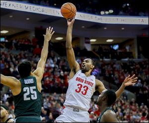 Behind Big Ten player of the year Keita Bates-Diop, Ohio State is the second seed in the conference tournament.