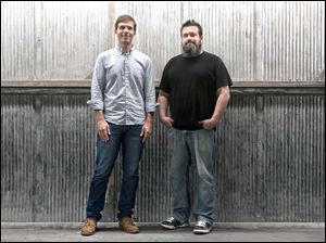 Josh Clark, left, and Chuck Bryant are the hosts of the award-winning podcast