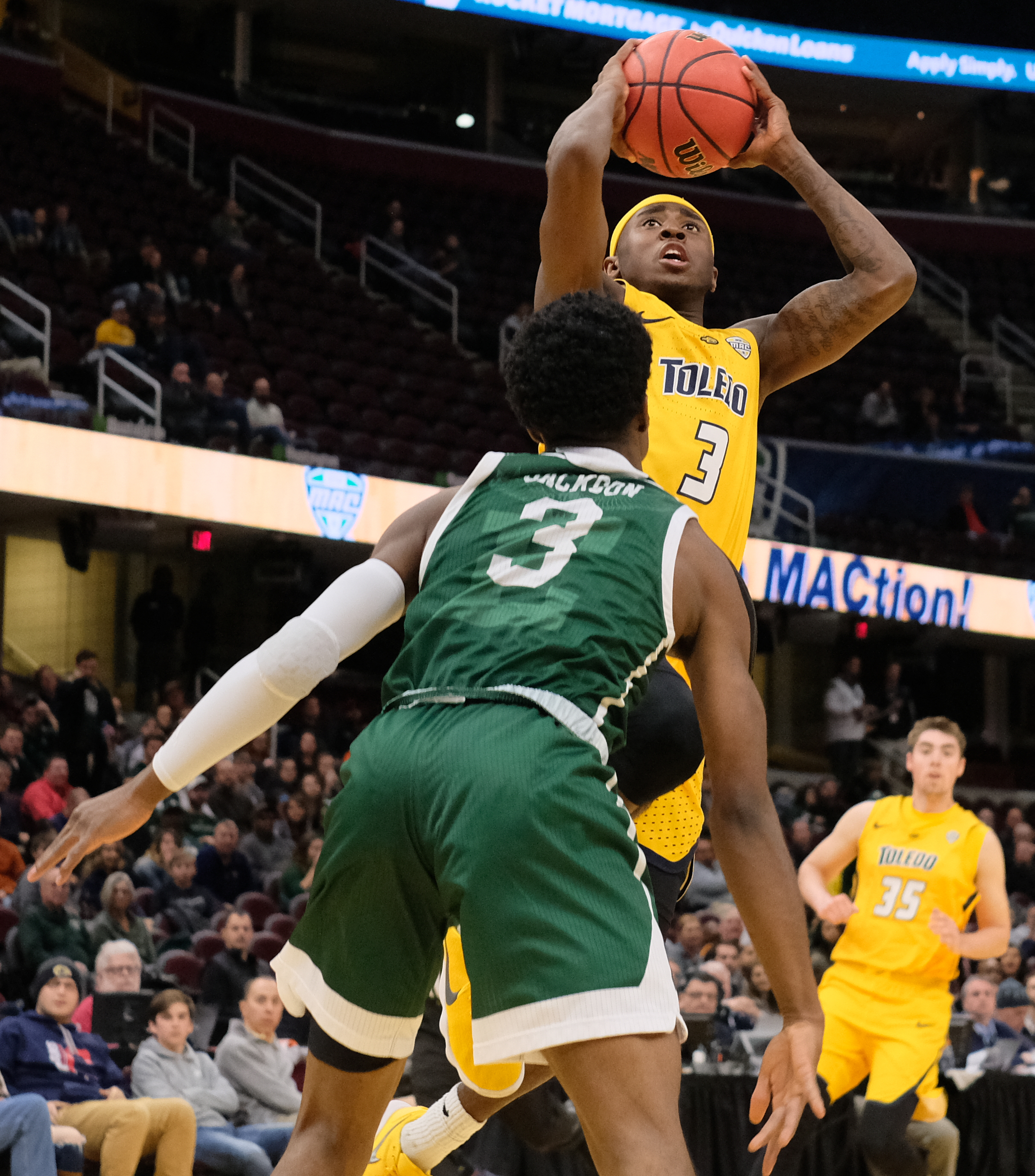 Jackson drains late 3-pointer as Toledo wins thriller in ...