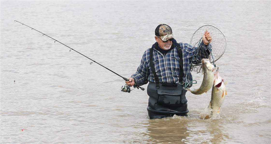 Hot Spots For The Maumee River Walleye Run The Blade