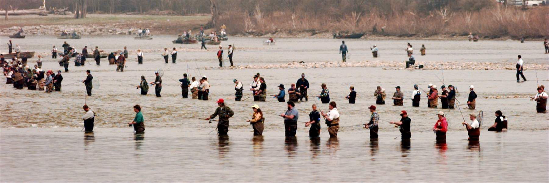 Hot spots for the maumee river walleye run the blade for Maumee river fishing