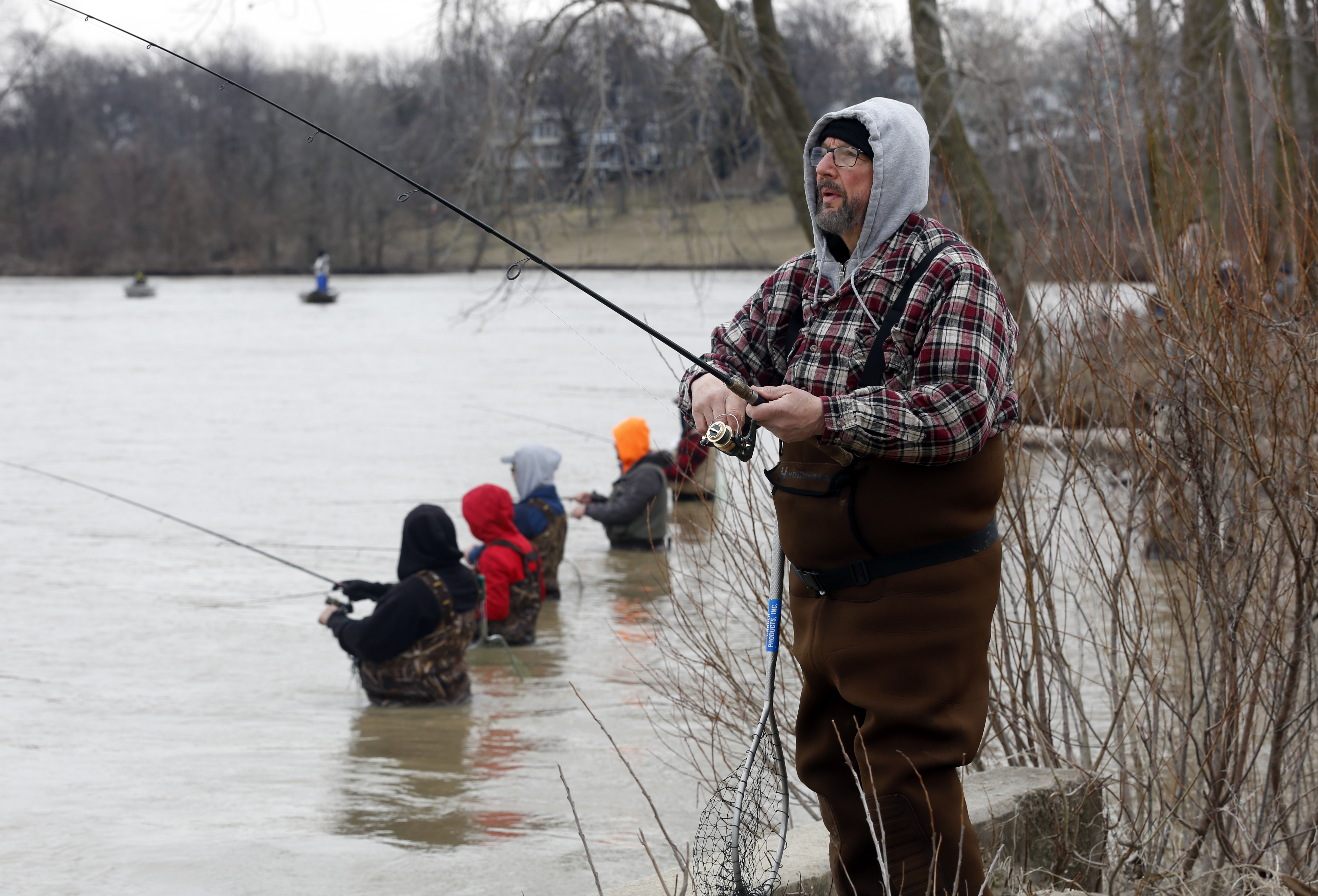 Blade fishing report rain a blessing and curse for for Maumee river fishing report