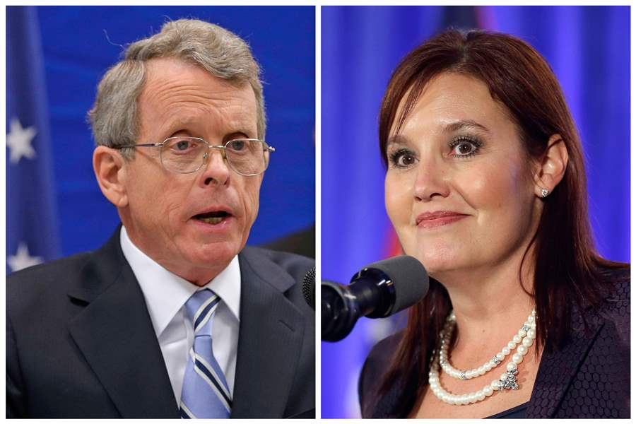 DeWine wins Republicans' Ohio governor primary