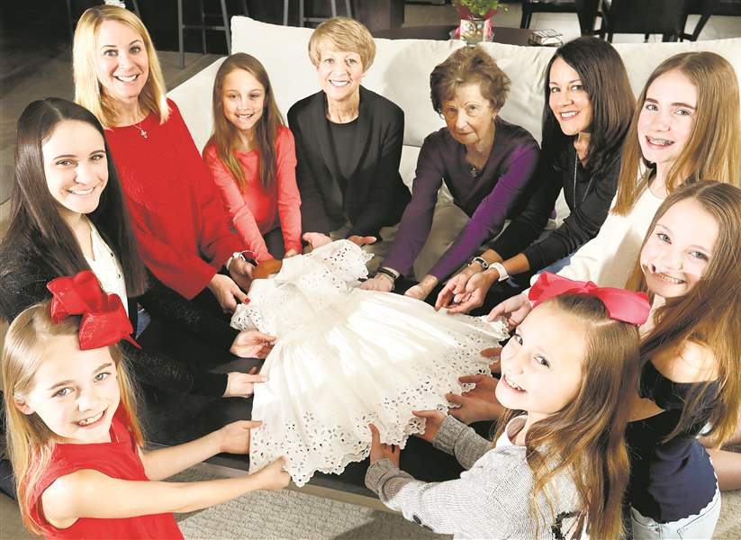 First Communion dress links 5 generations of family The Blade