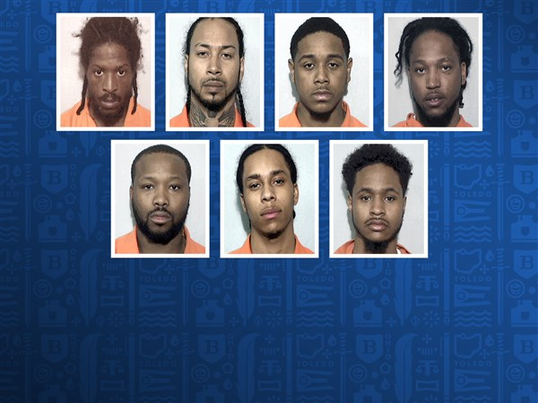 9 charged in connection with gang activity, drug sales | Toledo Blade