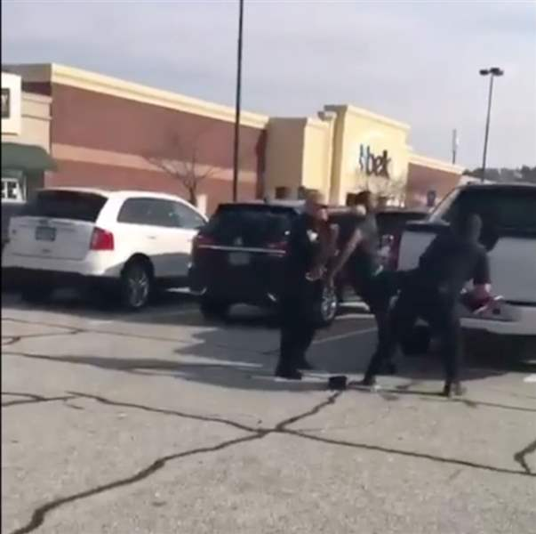 Henry County Officer seen in video choking former National Football League  player fired