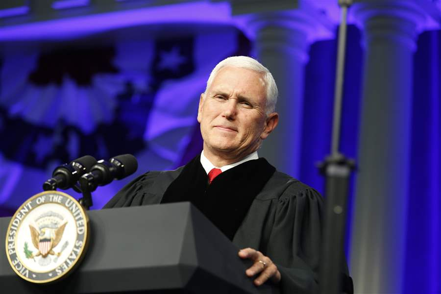 VP Pence to speak at Hillsdale College graduation