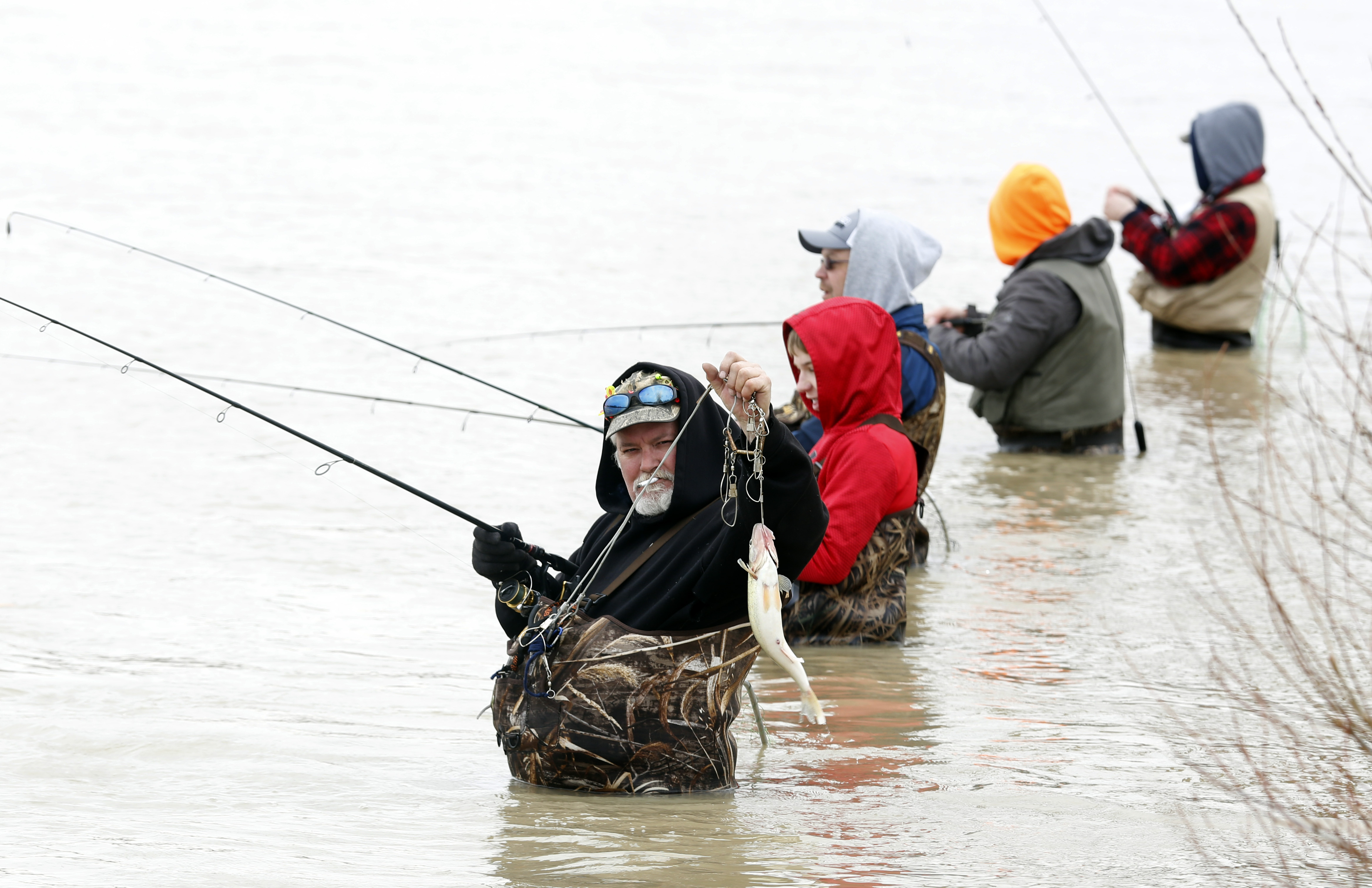 Blade fishing report mother nature has been big winner for Maumee river fishing report
