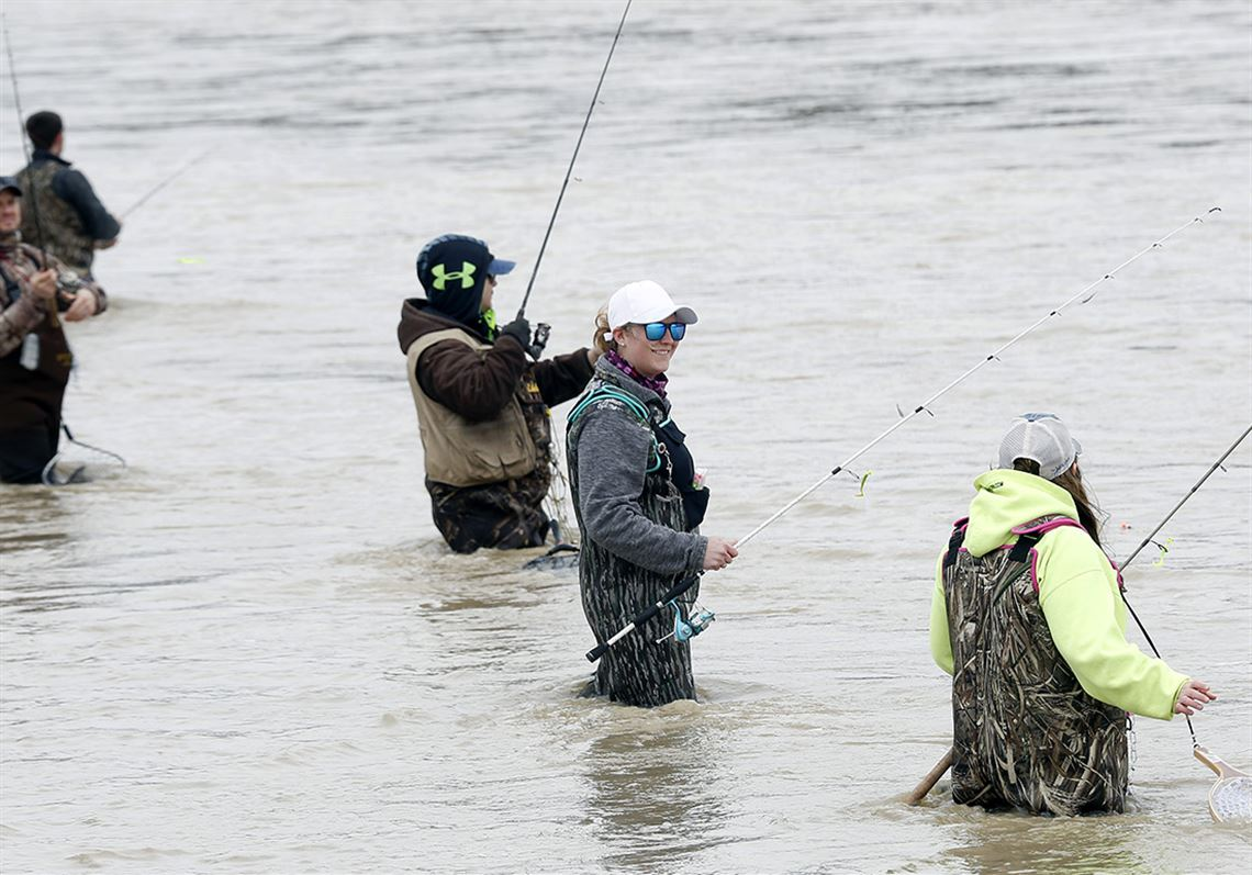 Boats aren't needed to catch fish from area waterways